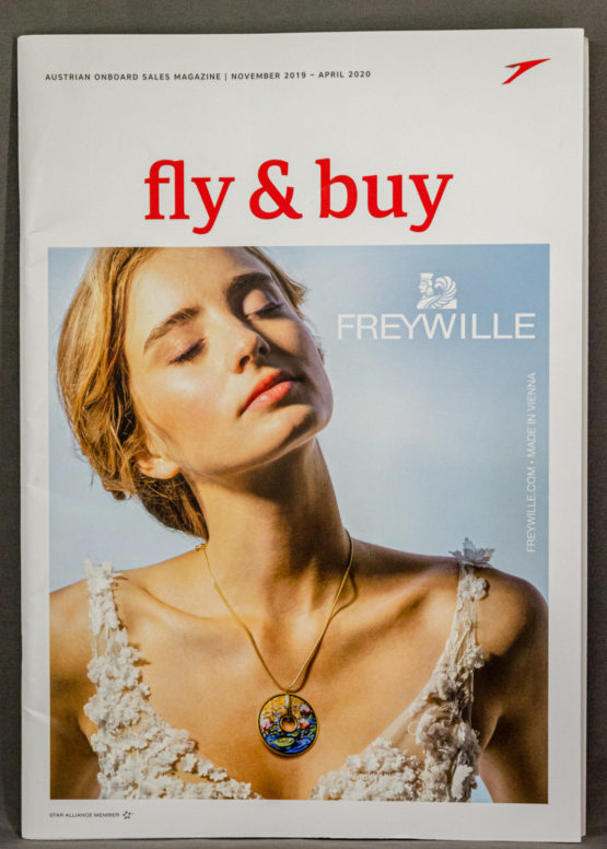 Austrian Airlines Fly & Save Magazine