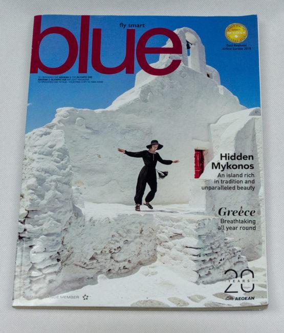 Aegean Airliens In Flight magazine 2019