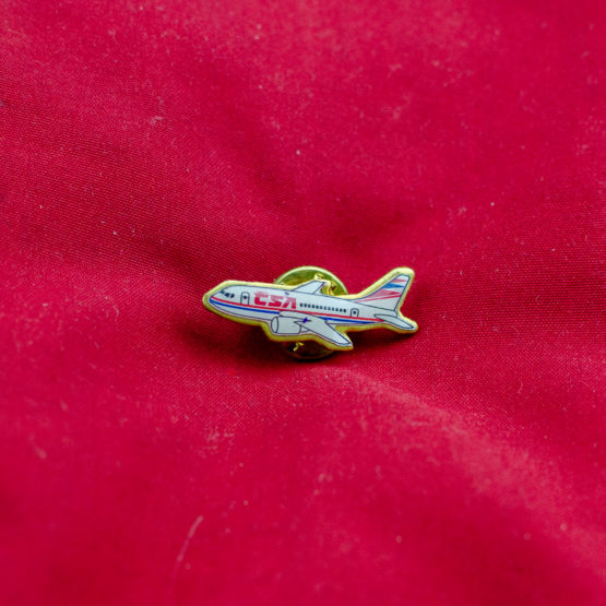 CSA Aircraft pin 1993 livery