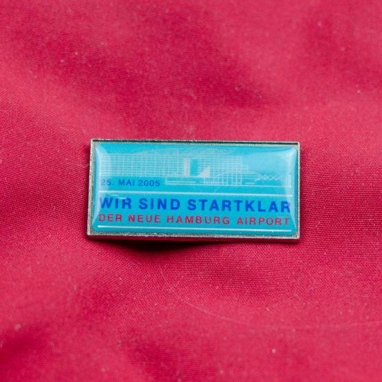 Hamburg airport Pin 2005